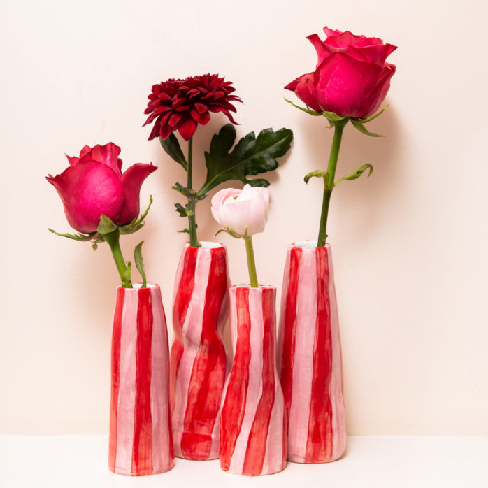 Our best selling vases are back in stock in new shapes, sizes and colours.